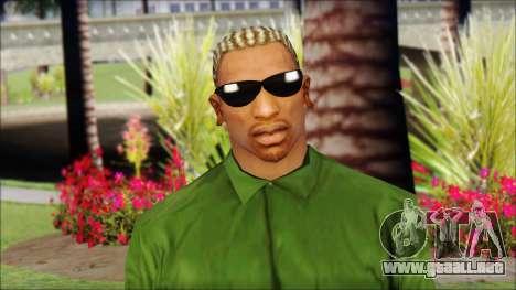 New CJ v2 para GTA San Andreas tercera pantalla