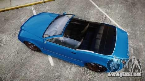 GTA V Enus Cognoscenti Cabrio para GTA 4 visión correcta
