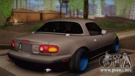 Mazda Miata para GTA San Andreas left