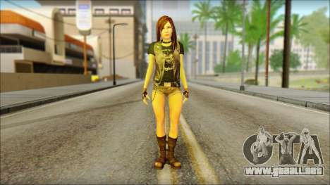 Bike Girl para GTA San Andreas