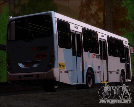 Marcopolo Torino G7 2007 Mercedes-Benz OF-1418 para vista inferior GTA San Andreas