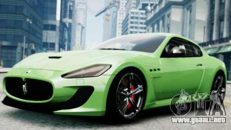 Maserati Gran Turismo MC Stradale 2014 para GTA 4