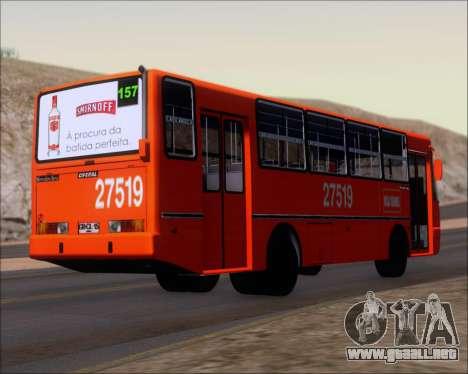 Ciferal GLS Bus Mercedes-Benz OH1420 para la visión correcta GTA San Andreas