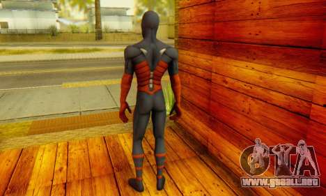 Skin The Amazing Spider Man 2 - DLC Anti-Electro para GTA San Andreas segunda pantalla