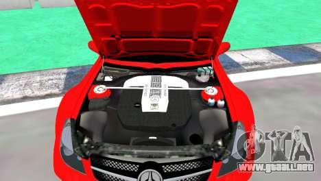 Mercedes Benz SL65 AMG Black Series para GTA 4 visión correcta