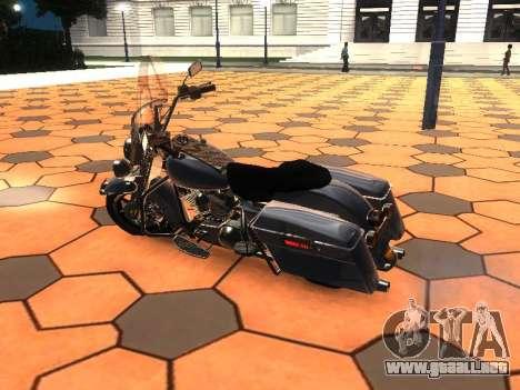 Harley Davidson Road King para GTA San Andreas left