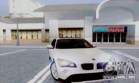Bmw X1 para GTA San Andreas vista posterior izquierda
