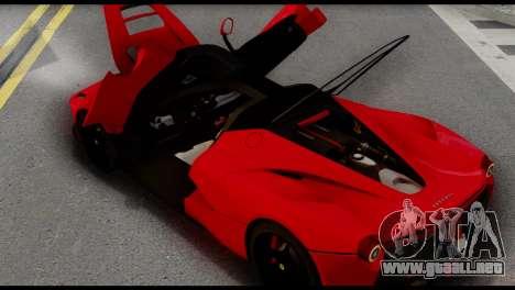 Ferrari LaFerrari 2014 (IVF) para la visión correcta GTA San Andreas