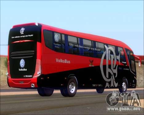 Marcopolo Paradiso 1200 G7 4X2 C.R.F Flamengo para la visión correcta GTA San Andreas