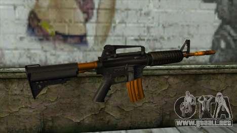 Nitro M4 para GTA San Andreas segunda pantalla