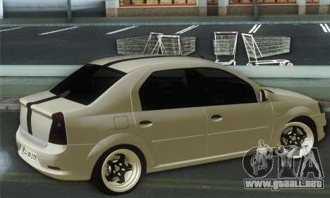 Dacia Logan 1.6 Street para GTA San Andreas left