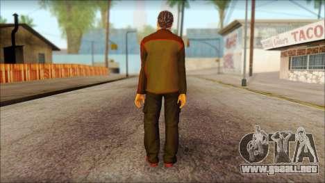 GTA 5 Ped 8 para GTA San Andreas segunda pantalla