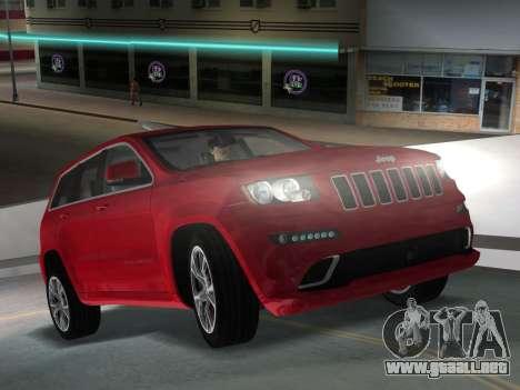 Jeep Grand Cherokee SRT-8 (WK2) 2012 para GTA Vice City