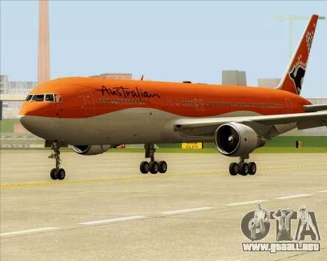 Boeing 767-300ER Australian Airlines para GTA San Andreas left