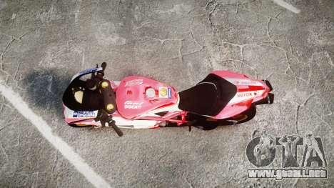 Ducati 1198 R para GTA 4 visión correcta