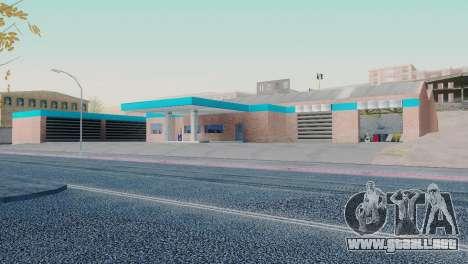 Nuevas texturas de garaje en San Fierro para GTA San Andreas
