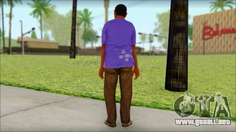 GTA 5 Ped 21 para GTA San Andreas segunda pantalla