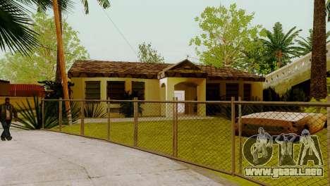 Texturas nuevas casas en la calle grove para GTA San Andreas tercera pantalla