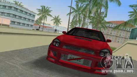 Subaru Impreza WRX 2002 Type 6 para GTA Vice City left