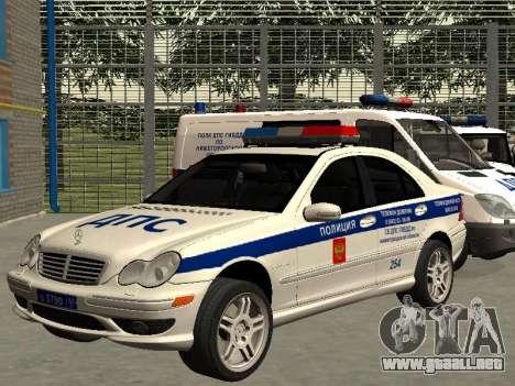 Mercedes Dps para GTA San Andreas
