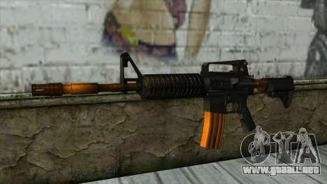 Nitro M4 para GTA San Andreas