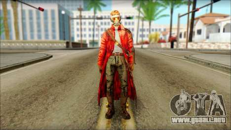 Guardians of the Galaxy Star Lord v2 para GTA San Andreas
