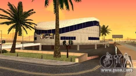 Texturas en HD en el estadio de Las Venturas para GTA San Andreas