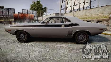 Dodge Challenger 1971 v2.2 PJ3 para GTA 4 left