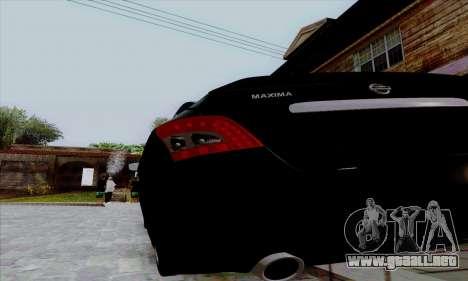 Nissan Maxima para la visión correcta GTA San Andreas