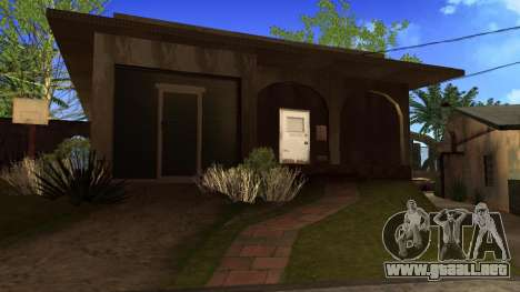 Nuevas texturas en HD casas en grove street v2 para GTA San Andreas séptima pantalla