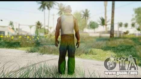 MR T Skin v2 para GTA San Andreas segunda pantalla