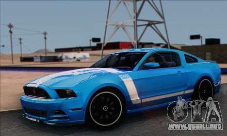 Ford Mustang Boss 302 2013 para GTA San Andreas