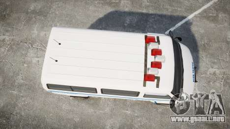 GTA V Bravado Youga NYPD para GTA 4 visión correcta