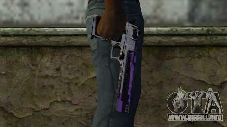 PurpleX Desert Eagle para GTA San Andreas tercera pantalla