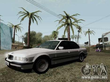 BMW 760i E38 para la vista superior GTA San Andreas