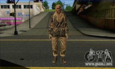 Task Force 141 (CoD: MW 2) Skin 18 para GTA San Andreas