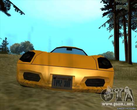 Stinger para GTA San Andreas left