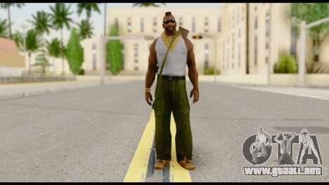 MR T Skin v8 para GTA San Andreas