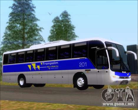 Marcopolo Andare Class Mercedes-Benz OF1721 para GTA San Andreas left