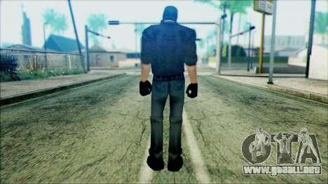 Manhunt Ped 18 para GTA San Andreas segunda pantalla