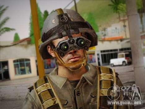 Боец СВР (Tom Clancy Splinter Cell) v2 para GTA San Andreas tercera pantalla