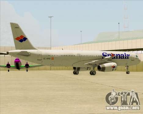 Airbus A321-231 Spanair para el motor de GTA San Andreas