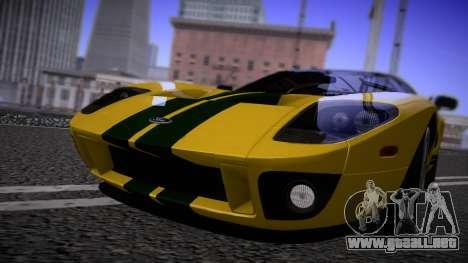 Ford GT 2005 Road version para GTA San Andreas left
