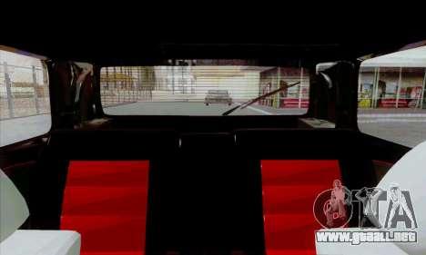Volkswagen Golf 2 GTi para GTA San Andreas vista hacia atrás
