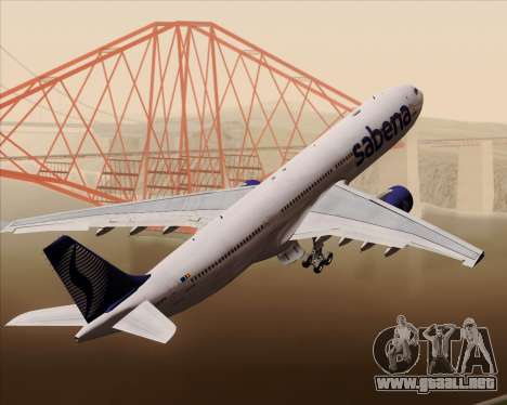 Airbus A330-300 Sabena para GTA San Andreas
