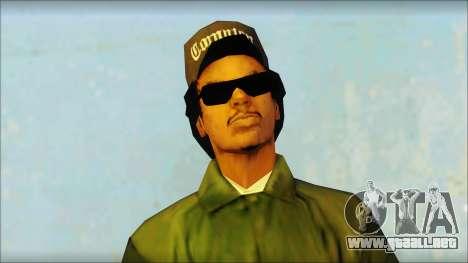 Eazy-E Green Skin v1 para GTA San Andreas tercera pantalla
