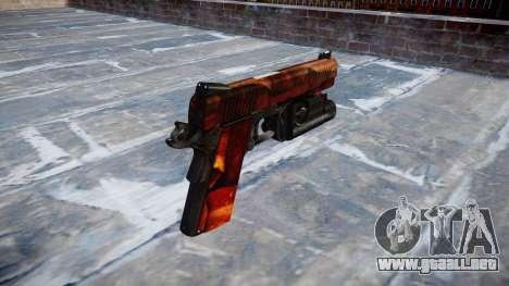 Pistola De Kimber 1911 Bacon para GTA 4 segundos de pantalla