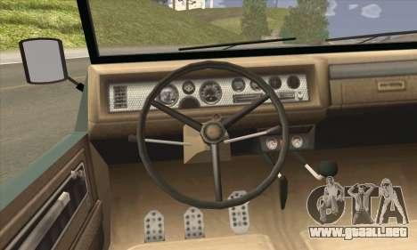 GTA V Canis Kalahari para GTA San Andreas vista posterior izquierda