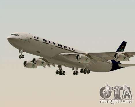 Airbus A340-313 Olympic Airlines para el motor de GTA San Andreas