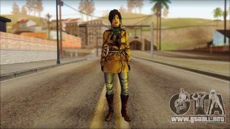 Tomb Raider Skin 2 2013 para GTA San Andreas
